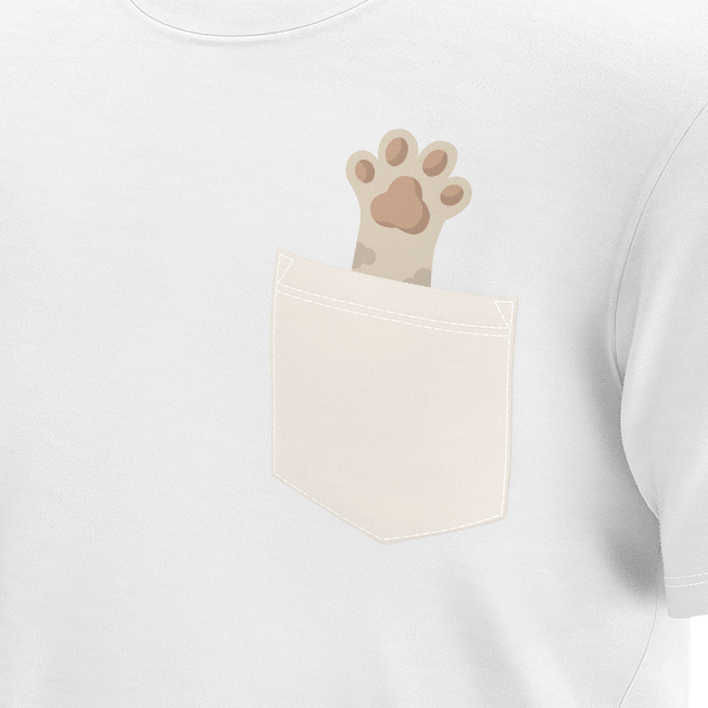 women tshirt with cats paw
