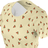 Funny yellow t shirt with watermelons pattern for women and ladies