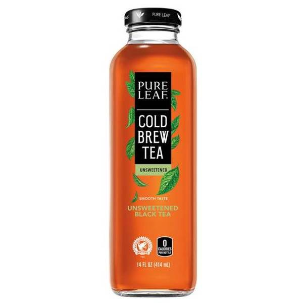 Pure Leaf Tea Unsweetened Black Tea 14oz