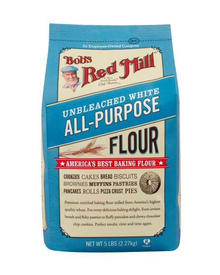 Bobs Red Mill Unbleached White Flour 5lb