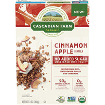 Cascadian Farm Cereal Cinnamon Apple 13oz
