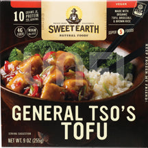 Sweet Earth General Tso Tofu Bowl