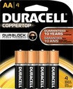 Duracell AA Battery 4pk