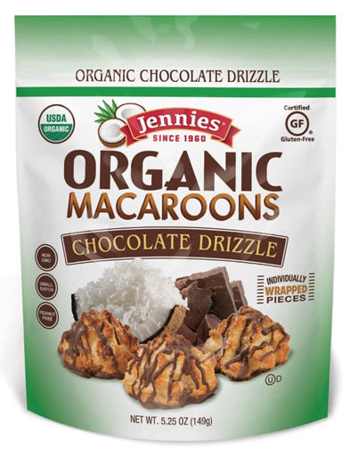 Jennies Macaroons Chocolate Drizzle 5.25oz