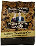 Newmans Own Family Recipe Cookies, Oatmeal Chocolate Chip 7oz