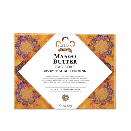 Nubian Soap Bar Mango Butter 5oz