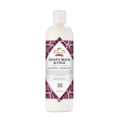 Nubian Body Lotion Goats Milk & Chai 13oz