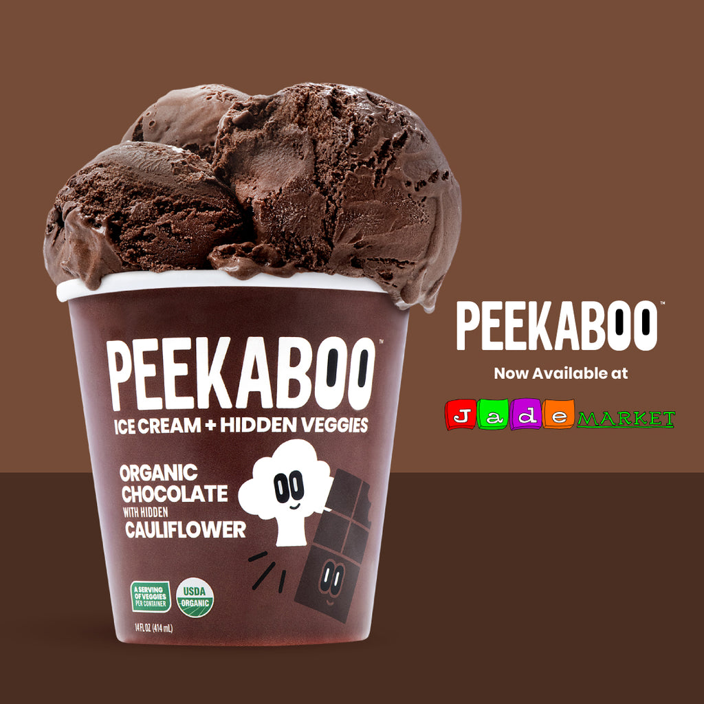 Peekaboo Ice Cream Chocolate Cauliflower Pint