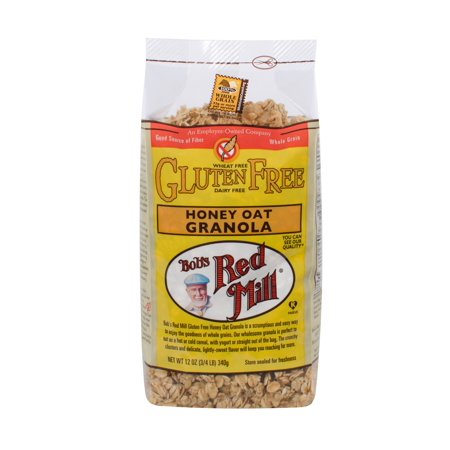Bobs Red Mill Granola Honey Oat GF 12oz