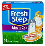 Fresh Step Multi-Cat Litter Febreze 14lb