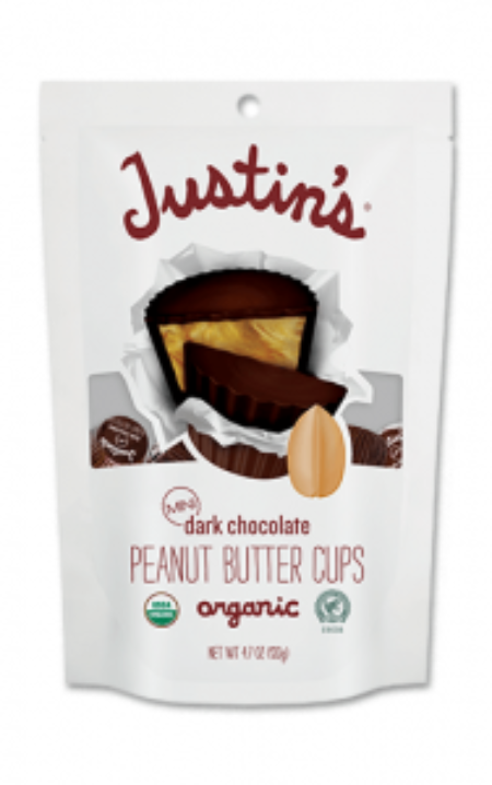 Justins Dark Chocolate Peanut Butter Cups 4.7oz