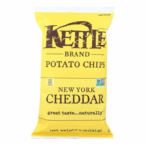 Kettle Brand Chips New York Cheddar