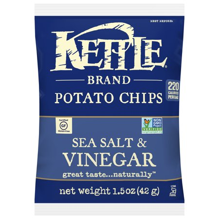Kettle Brand Chips Sea Salt & Vinegar Snack Size