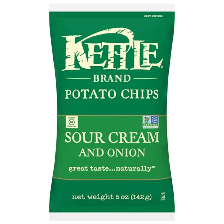 Kettle Brand Chips Sour Cream & Onion