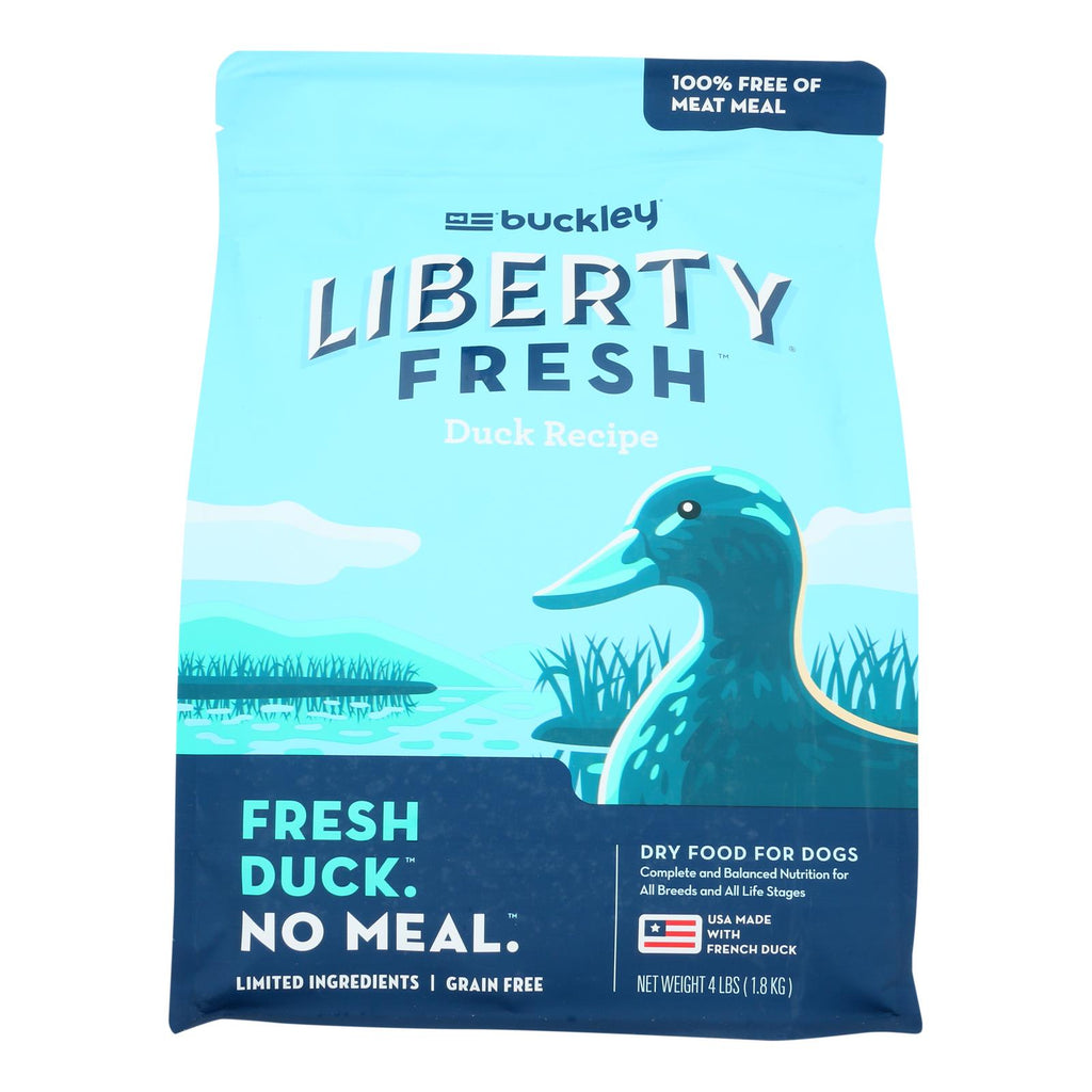 Buckley Liberty Fresh Grain Free Dog Food, Duck
