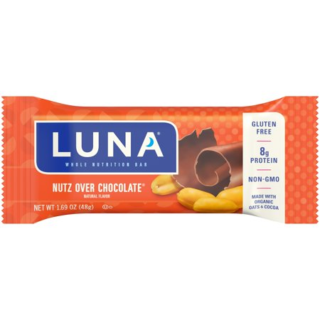 Luna Bar Nutz Over Chocolate