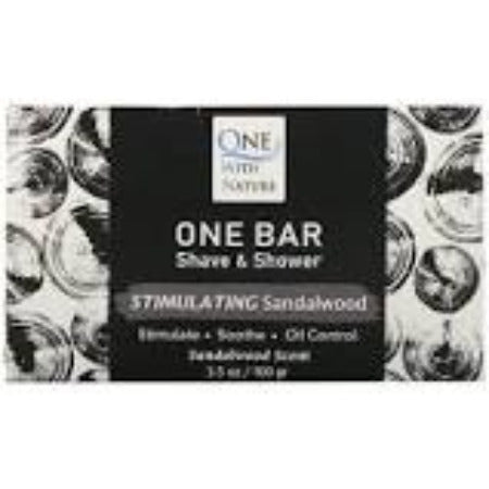 One Bar Shave & Shower Stimulating Sandlewood 3.5oz