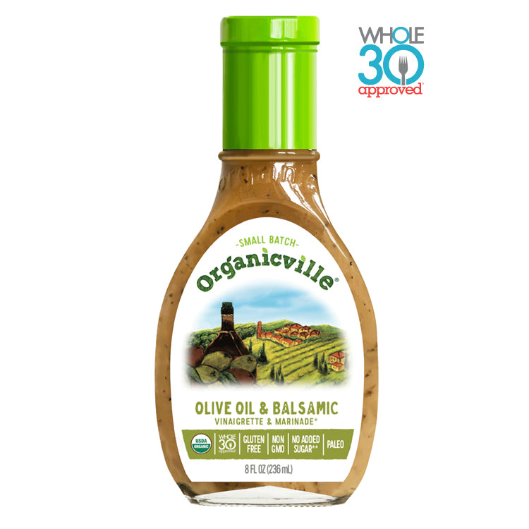 Organicville Olive Oil & Balsamic Dressing