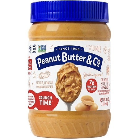 Peanut Butter & Co Crunch Time 16 oz.