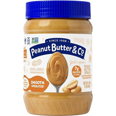 Peanut Butter & Co Smooth Operator 16 oz.