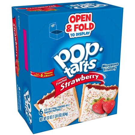Pop Tarts Strawberry 6pk