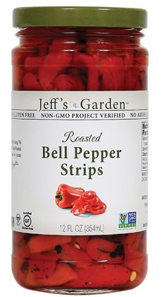 Jeffs Garden Bell Pepper Strips