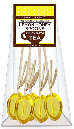 Melville Honey Spoons Honey & Lemon 5pk