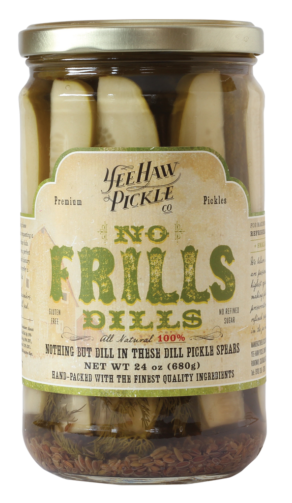 YeeHaw No Frills Dill Pickles