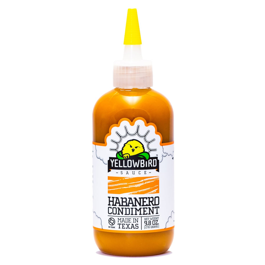 Yellow Bird Hot Sauce Habanero