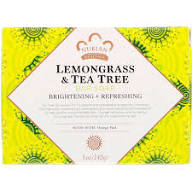 Nubian Soap Bar Lemongrass & Tea Tree 5oz
