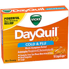 DayQuil Cold & FLu,16 LiquiCaps