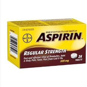 Bayer Asperin 24 Tablets