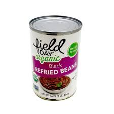 Field Day Refried Black Beans