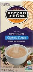 Oregon Chai Tea Latte Concentrate Slightly Sweet