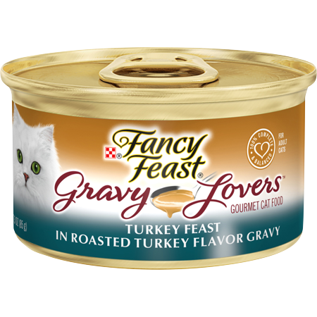 Fancy Feast Gravy Lovers Turkey 3oz