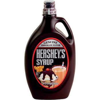 Hershey Chocolate Syrup, Family Size