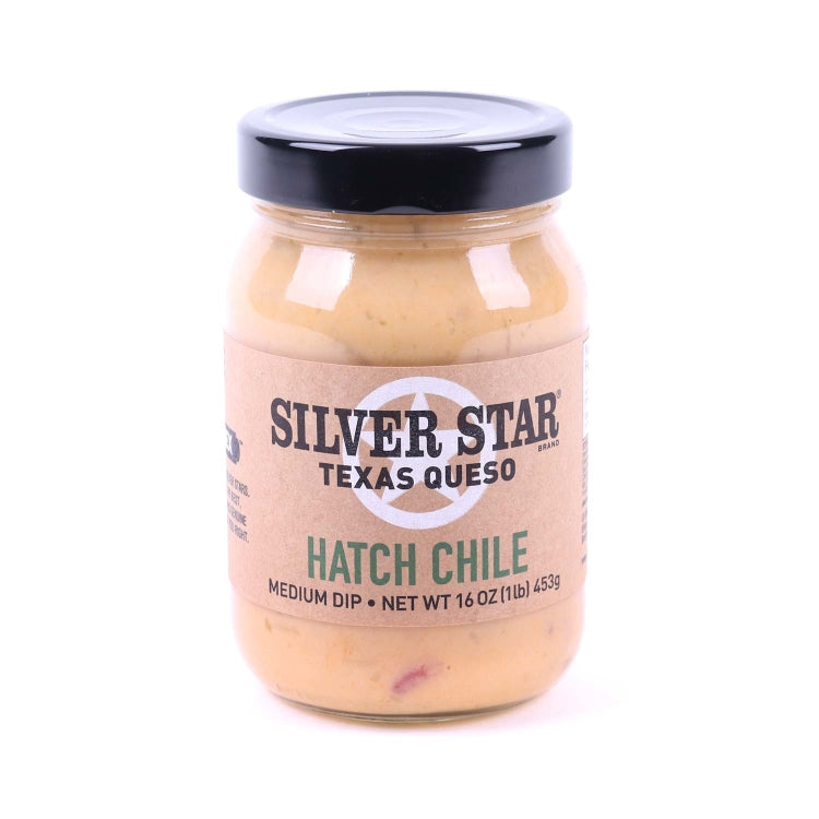 Silver Star Texas Style Hatch Chile Queso Dip
