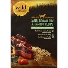 Wild Harvest Dry Dog Food Lamb, Brown Rice and Carrot 4lb