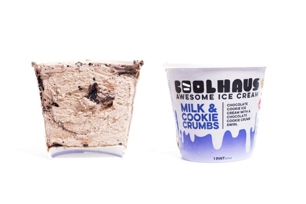 Coolhaus Ice Cream Milk & Cookie Crumbs Pint