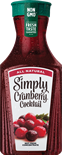 Simply Cranberry Cocktail 52oz