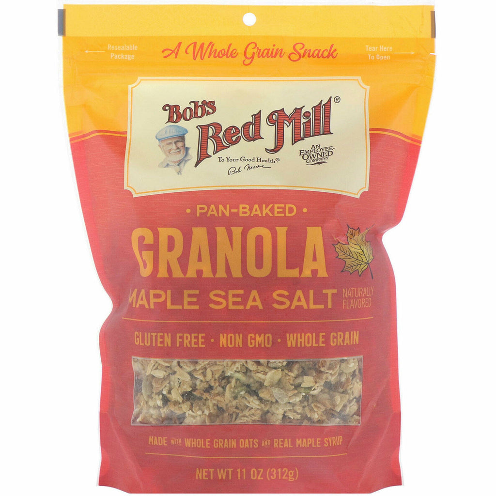 Bobs Red Mill Granola Maple Sea Salt GF 11oz