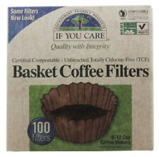 If You Care Coffee Filters, Basket 100ct