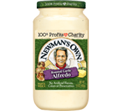 Newmans Own Roasted Garlic Alfredo Sauce