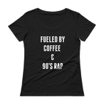 Fueled by Coffee & 90s Rap Tee