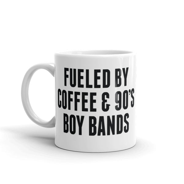 Coffee & Boy Bands Mug