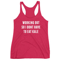 No Kale Workout Tank