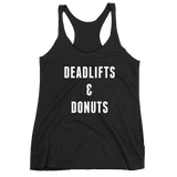 Deadlifts and Donuts Tank