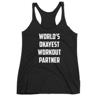 Okayest Workout Partner Tank