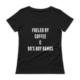 Fueled By Coffee & Boy Bands Tee