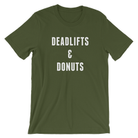 Deadlifts and Donuts Tee